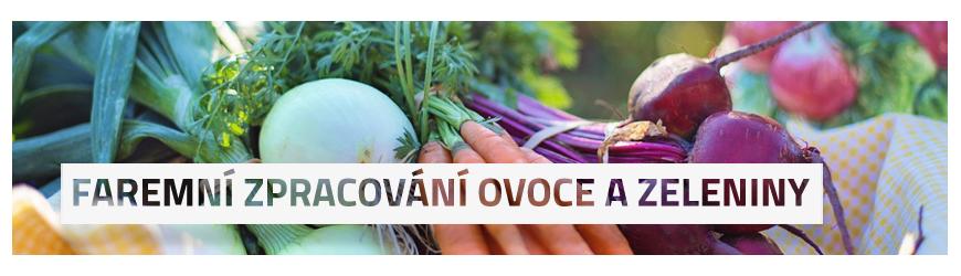 Faremní zpracování ovoce a zeleniny