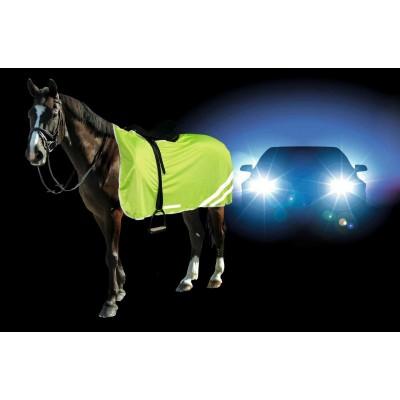 Bezpečnostní deka reflexní pro koně 145 cm