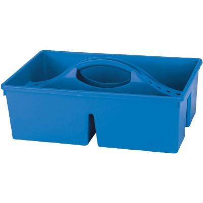 Box na čistící potřeby, bez víka 38x25x11, 5cm, modrá