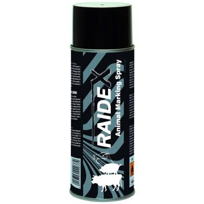 Spray na značení RAIDEX 400ml černý