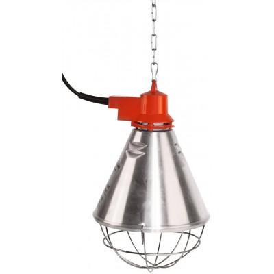 Tepelný zářič s hliníkovým stínítkem a s kabelem 2.5m