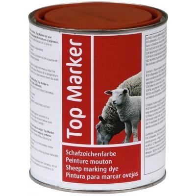 Značkovací barva pro ovce červená 1kg