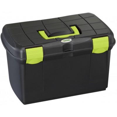Box na čistění Arrezzo černý/pistácie
