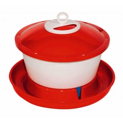 Napájecí kbelík pro drůbež 6l plast