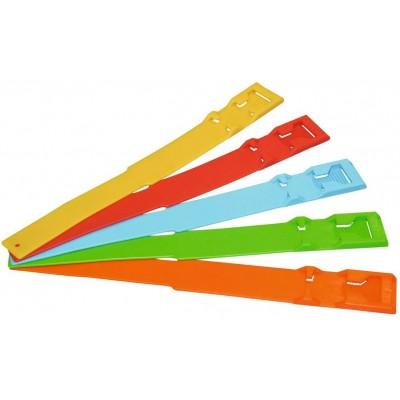 Páska na nohu plast, oranžová
