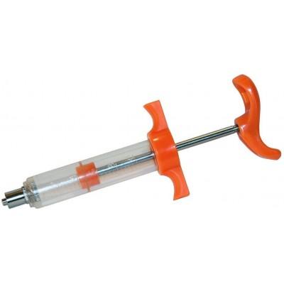 Stříkačka nylon LL 50ml s plastovou rukojetí