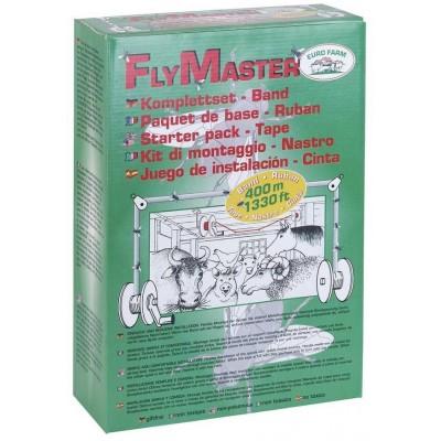 Mucholapka-Fly Master, lepící šňůra 440m, 2x buben, 2x kladka-komplet