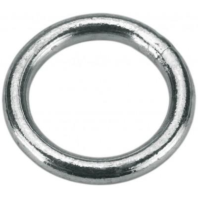 Kroužek pozink, _40mm, 7mm galvanizovaný, 3 ks