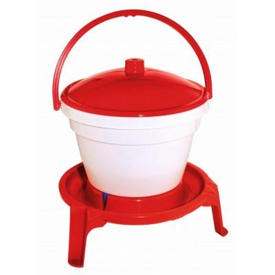 Napájecí kbelík s držadlem, plast, 18l (vhodné i pro malá kuřata)