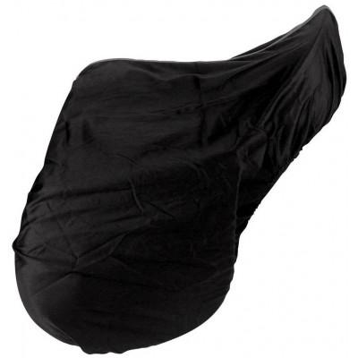 Ochranný potah na sedlo černý, bavlněný pro sedlo pony