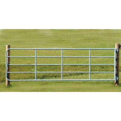 Brána pozinkované železo, nastavitelná, 4-5m