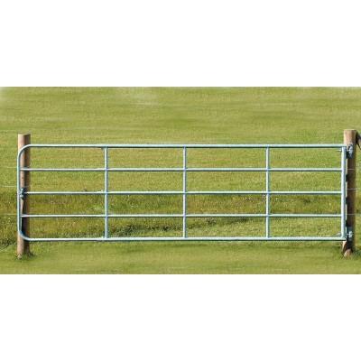 Brána pozinkované železo, nastavitelná, 1-1,7m
