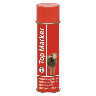 Značkovací spray TopMarker pro ovce 500ml, červený