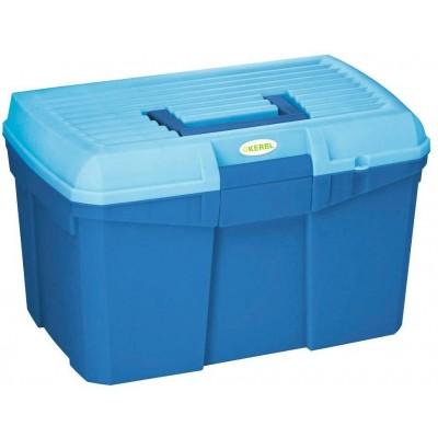 Box na čistící potřeby SIENA nosnost až 100kg 400x275x245cm, černá/červená