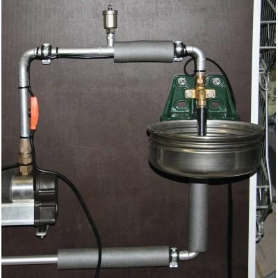 Topný kabel s termostatem, délka 8m, 128W