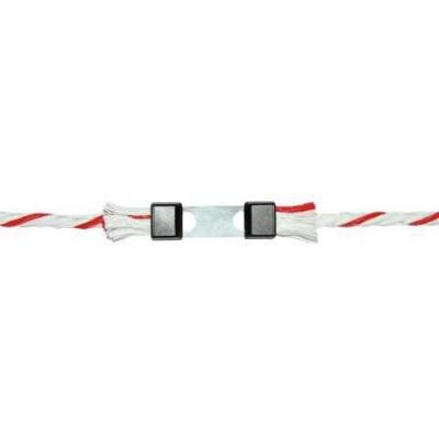 Litzclip na lanko, 5mm, galvanizovaný, 10ks