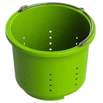 Víko na krmný kbelík, černá