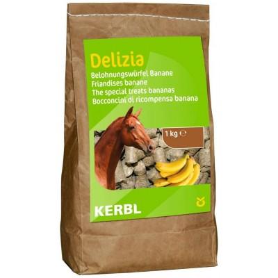 Pochoutka pro koně DELIZIA, vanilka/višeň, 3kg