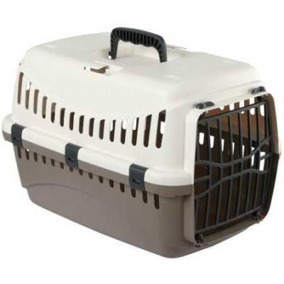 Transportní box Expedion, krémový/hnědošedý