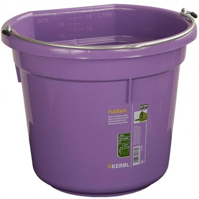 Kbelík na krmivo a vodu, plast FlatBack, aquamarin 20l