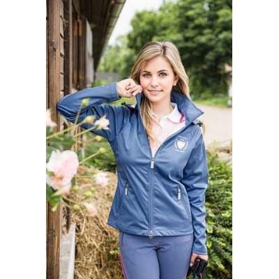 Shoftshelová bunda Florence, XXL, 44, světle modrá, poslední kus