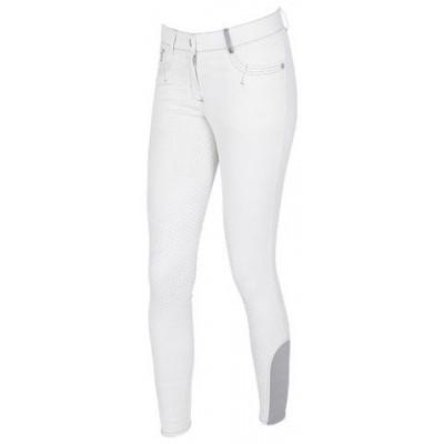 Dámské jezdecké kalhoty BasicPlus, bílé, vel. 34