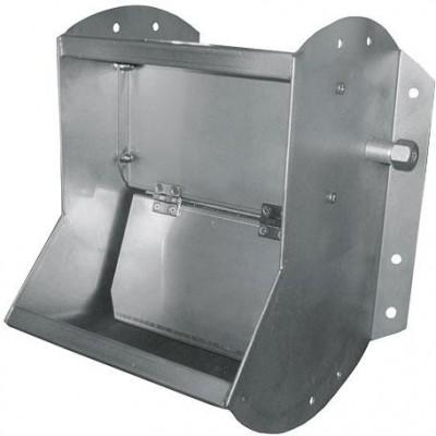 Ventilová žlabová napáječka, jednoduchá, 300x375x400mm