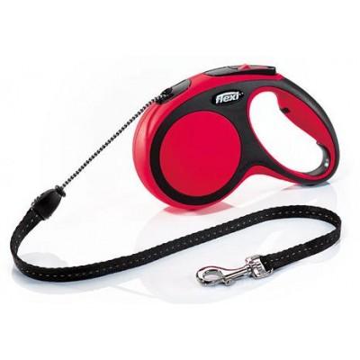 Vodítko flexi Comfort, lanko, červené, vel. M, délka 5 m, max. 20 kg