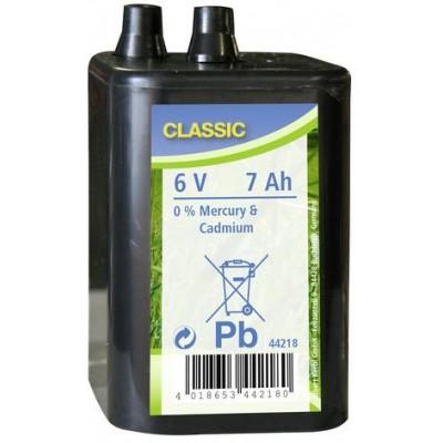 Baterie suchá 6V
