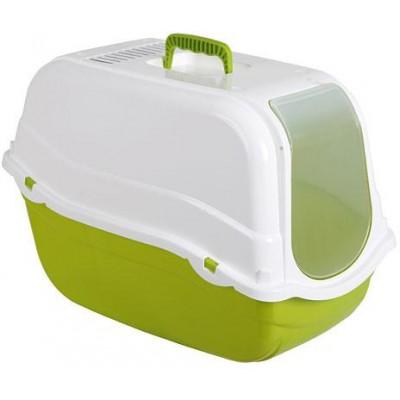 Box Minka, zelená/bílá