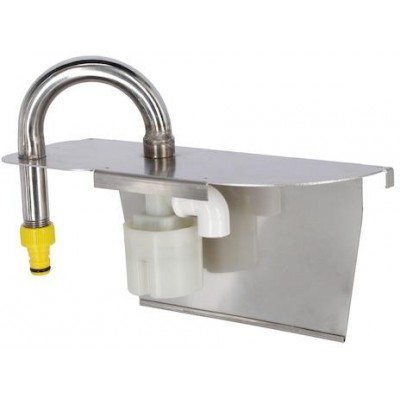 Plovákový ventil pro dlouhý krmný žlab