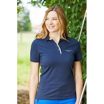 Tričko s límečkem Sophia, tmavě modrá, vel. M, poslední kus