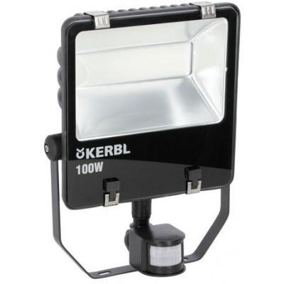 Venkovní LED světlomet s pohybovým senzorem, 100 watt, 7 500 lm