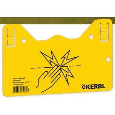 Tabulka varovná KERBL na el. ohradník