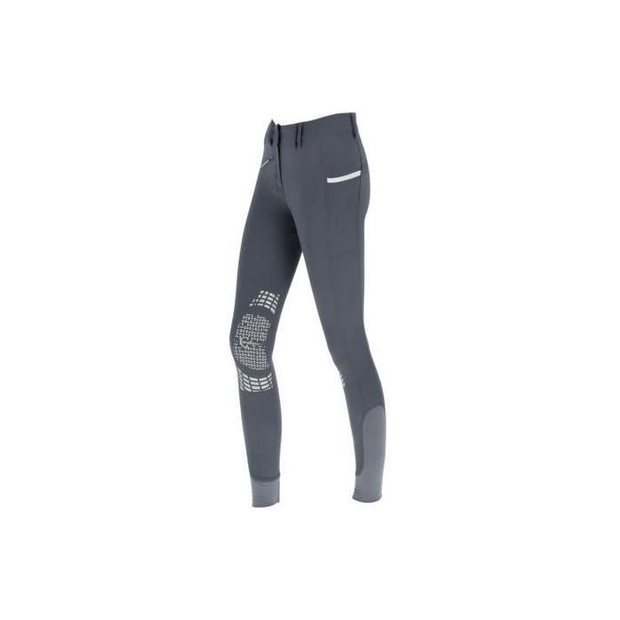 Dámské jezdecké kalhoty - rajtky BALI, šedá, vel. 34