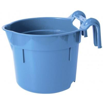 Žlab závěsný přenosný plast HangOn 8l, aquamarin