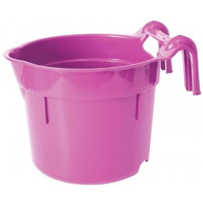 Žlab závěsný přenosný plast HangOn 8l, rosé