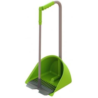 Lopata se škrabákem MISTBOY MINI, světle zelená, 60 cm