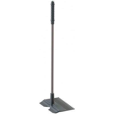 Samostatné hrábě k MISTBOY MINI, 60 cm, šedé