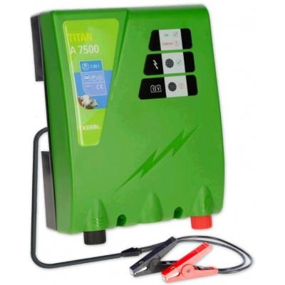 Elektrický ohradník - Ohradníkový zdroj Kerbl TITAN A7500