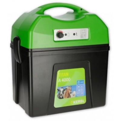Elektrický ohradník - Ohradníkový zdroj Kerbl TITAN A4000