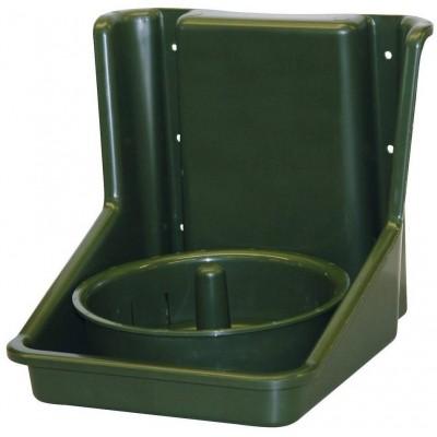 Držák lizu pro koně do 3kg, zelený, s vnitřním kruhem