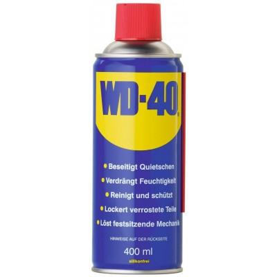WD-40 sprej univerzální, 400ml s flexibilní trubičkou