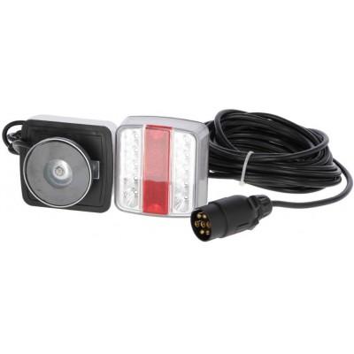 Koncové světlo LED, s kabelem, magnetický držák