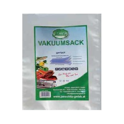 Meaty vakuovací sáček 12 x 40 cm baleno po 100 ks, vroubkovaný, síla 0,105