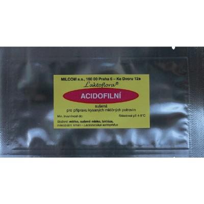 Kultura acidofilní na 1 litr mléka, 1 sáček