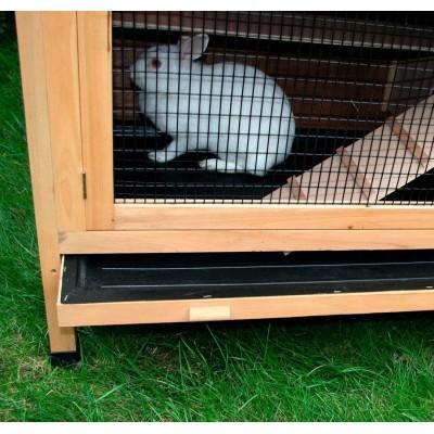 Náhradní vana spodní pro králíkárnu 82800, s rámem 105 x 54 cm