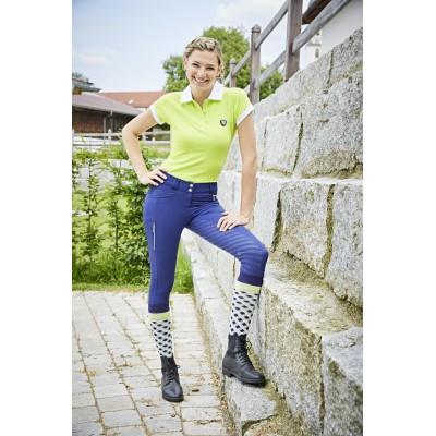 Dámské jezdecké kalhoty - rajtky DETROIT 2020, modrá, vel. 36