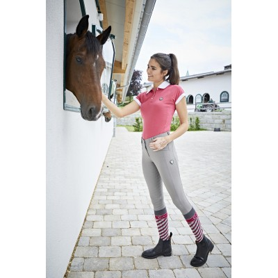 Dámské jezdecké kalhoty - rajtky DETROIT 2020, šedá, vel. 34