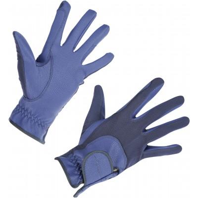 Rukavice jezdecké Covalliero SUMMERTECH, modrá, vel. XL